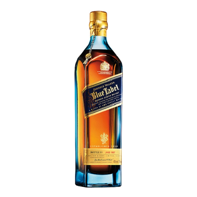 johnnie walker blue label 1lt cava diapon. Black Bedroom Furniture Sets. Home Design Ideas